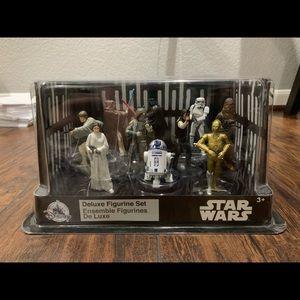 Star Wars Deluxe Figurine Set New Hope Disney